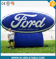 custom made inflatable advertising Ford brand logo model billboard
