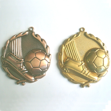 Football Medal for promotion Made in China sport medal