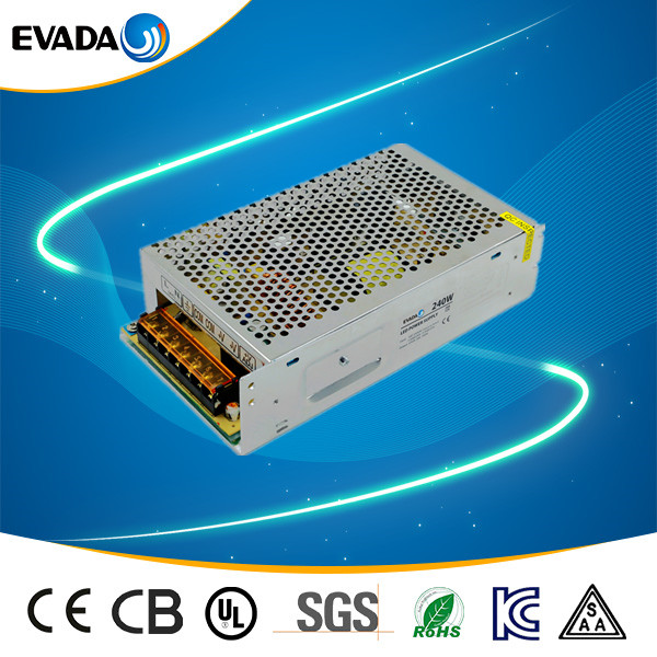 hot 24v 8a ac dc switching power supply 200w with good quality