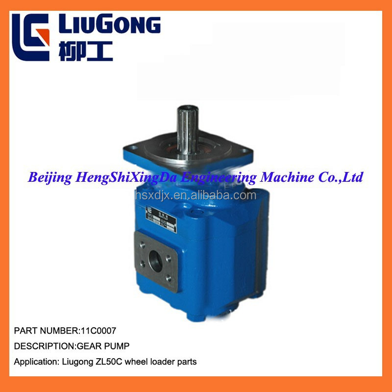 Wholesale hydraulic pump for LiuGong ZL50C loader 11C0007 permco gear pump