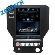 "ZESTECH Vertical 10.4"" Quad Core Android 6.0 2gb ram Car DVD GPS navi radio for Ford Mustang 2015-2016"