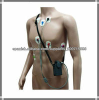 DMS 3 Channel portable ECG Holter 7 leads Monitor ecg