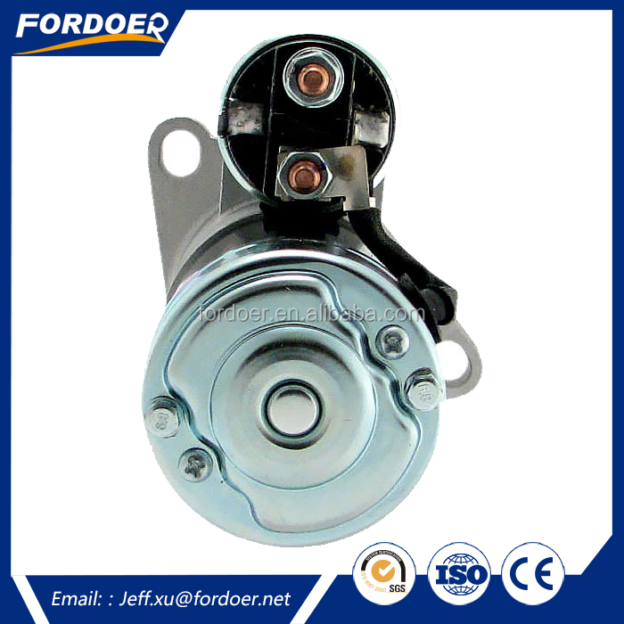 starter electric motor M1T66081, SBA185086550, SBA18508-6550, SBA185086551 for New Holland Compact Loaders CL35