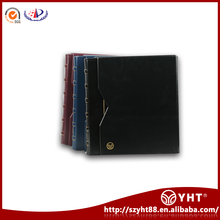 OEM&ODM Available souvenir coin book / album for coins / pvc coin holder with built in 36 coin boxes