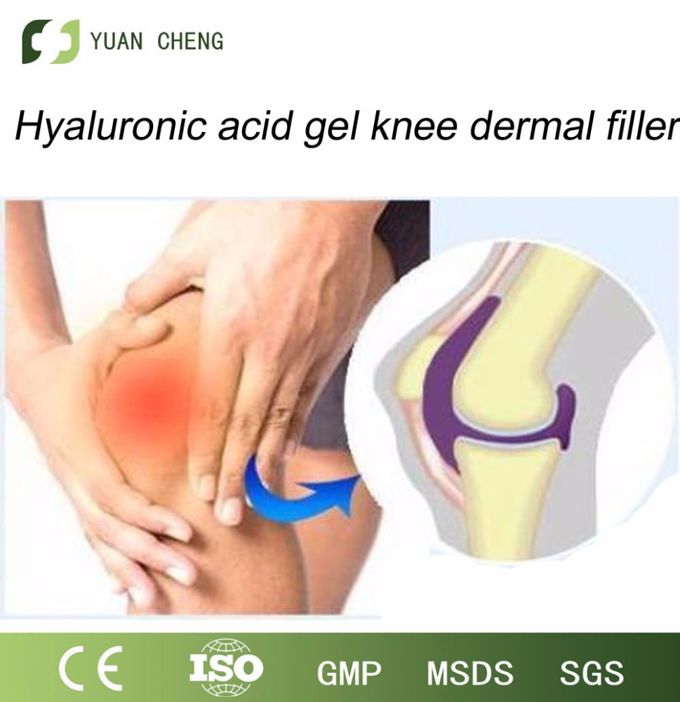 Liquid lubricant hyaluronic acid knee injection to help operation