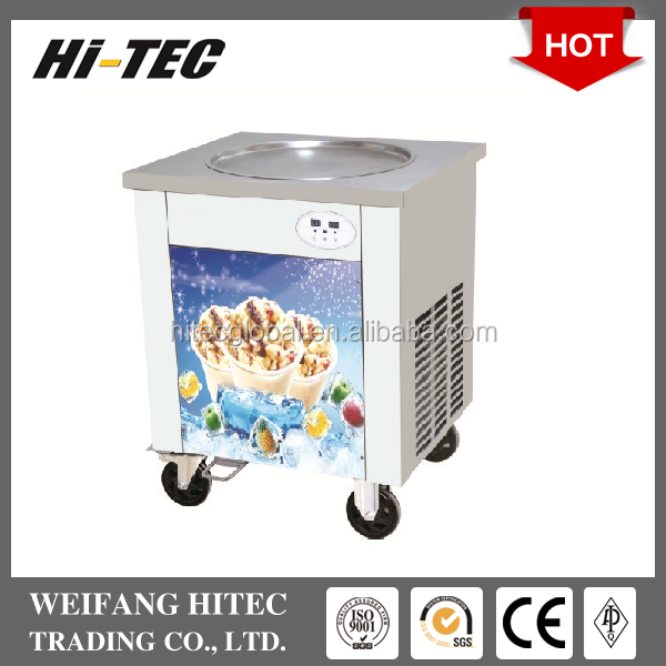 2017 New Design Hot Sale Single Pan Fried Ice Cream Roll Machine For Ice Cream Roll