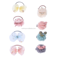 Children's Crown Princess Flower Fashion Hair Clips Girls Bowknot And Cartoon Pattern Kids Hairbands Baby Hair Accessories