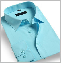 Wholesale Cheap Mens Formal Shirt Man Clothing Long Sleeve Dress Shirts