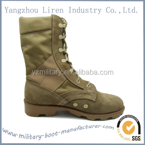 2014 New Design Leather US Army Desert Military Boot