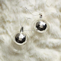 Handblown Double Glass Sphere Ornament Glass