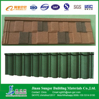Best Reliable Factory Directly Sale Stone Coated Metal Roofing Tiles