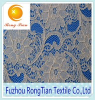 African fashion new hygroscopic lace fabric for wedding dress