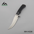 Hunting knife fixed blade with wood handle