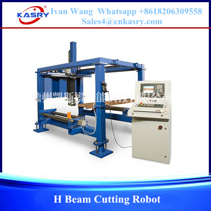 KASRY Plasma Flame H Beam Cutting Copying Beveling Machine