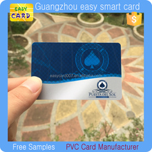 Plastic Java Card Smart rfid card with MF1 Classic 1k chip