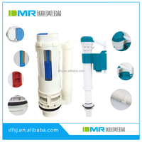DMR high level dual flush valve fill valve cistern plastic fittings
