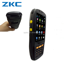 "Android5.1 device 4G LTE network 4""touch screen android handheld computer built in barcode scanner and free sdk"