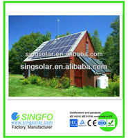 the solar panel system 1500w to enerate electricity for home use