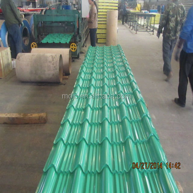 0.3mm corrugated aluminum roofing sheet from China supplier