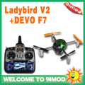 FPV Function! Walkera QR Ladybird V2 with DEVO F7 Mini Quadcopter
