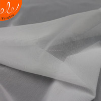 Hot sale 90g 91 nylon 9 spandex composition polyamide stretch mesh fabric for lingerie