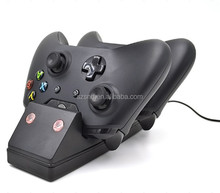 2 piece rechargeable batteries charging dock for xbox one wireless controller