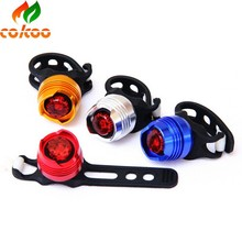 Aluminum red/white led bicycle tail/front light water resistance bike rear light
