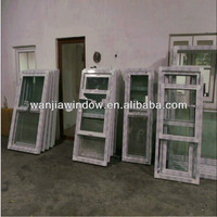 Wanjia factory wholesale upvc pull up window