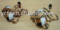 08231 Plush Tiger with Magnet in each Feet