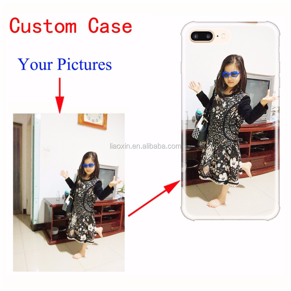 Personalized Custom Phone Case DIY Picture Photo TPU Gel Soft Mobile Cover for iPhone 5 5s SE 6 6s 7 8 Plus X