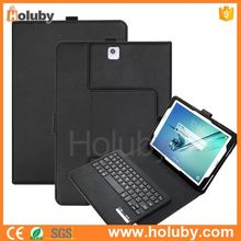 Alibaba Seller Dropship Wireless Bluetooth Keyboard for Samsung Galaxy Tab S2 Tablet with Leather Case Stand