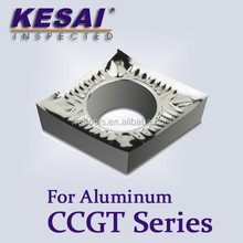 Kesai CCGT Carbide Inserts for Aluminum Cutting