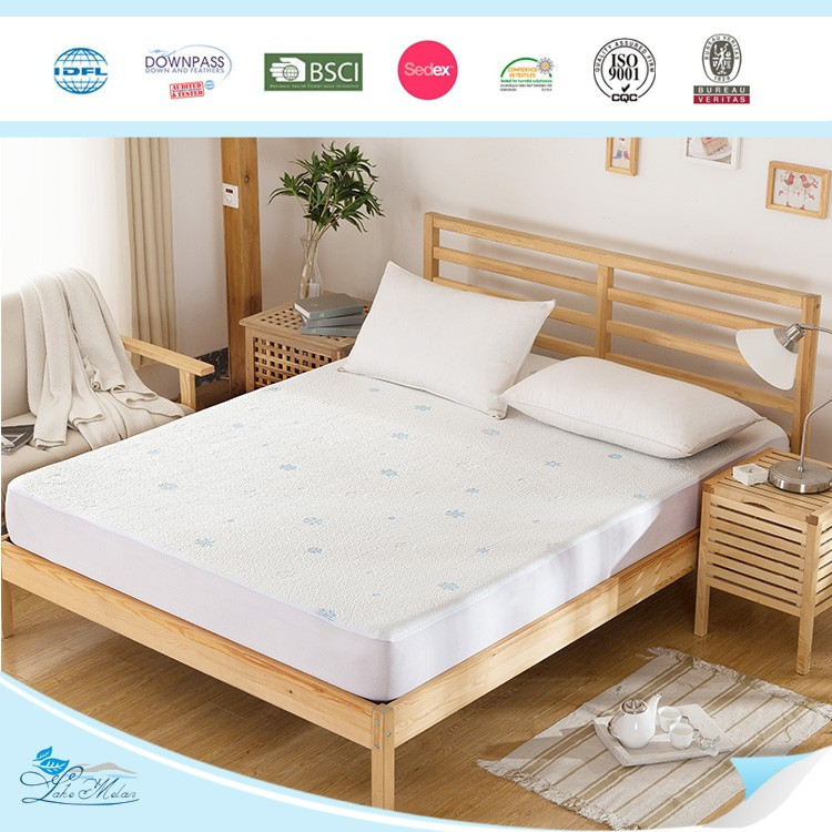 Waterproof Flannel mattress protector fabric