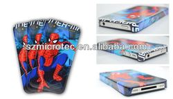 3D Sublimation Polymer Case, MT-IP4-3D 3d cute soft silicone case cover skin for iphone 4