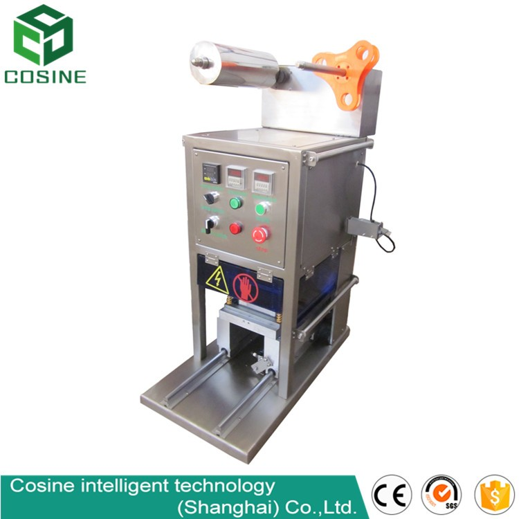 With 2 years warrantee automatic cup sealer/automatic tube filling and sealing machine/full automatic envelope sealing machine