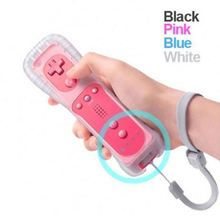 Built In Motion Plus Remote And Nunchuck For Wii Remote Game Controller Console