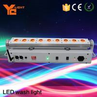 OEM Provided Stage Equipment Producer Rgbaw Wireless Dmx Led Wall Washer, Lighting Bar