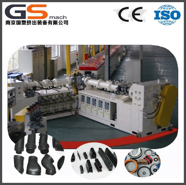 Rubber products door/window rubber sealing strip making machine