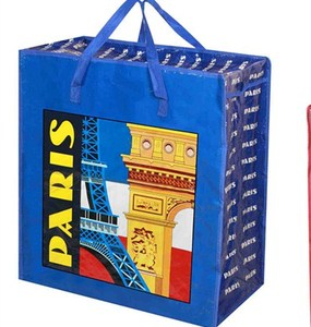 Quality and reliable urban design woven plastic woven tote shopping bags