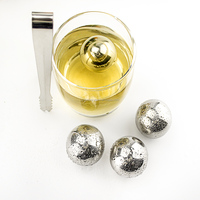 Stainless Steel Chilling Balls,Steel Ice Balls,Steel Ice Rocks For Cooling drink