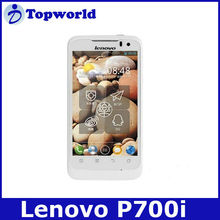 In stock! Lenovo P700i MTK6577 smart mobile phone Android 4.0.4GPS WIFI 4.0 inch capacitive multi-touch celulares