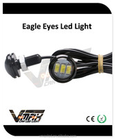 Car accessory 12V 3W 23mm 3*5730 chips multicolor eagle eyes for wholesales custom auto interior parts