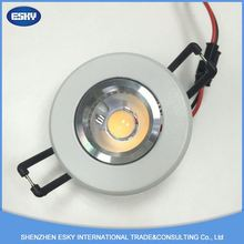 China supply high quality 1waterproof/ bathroom ip65 10w interchangable bezel fire rated led downlight