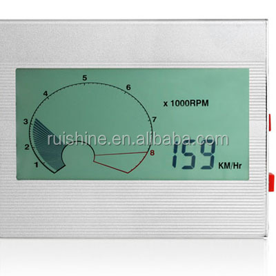 FSTN 7 Segments monochrome digital lcd display speedometer