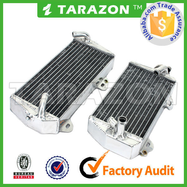 Factory directly sale aluminum motocross radiator
