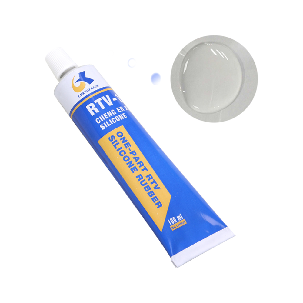 100 ml RTV Transparent Silicone Sealant for wood customize packing and color