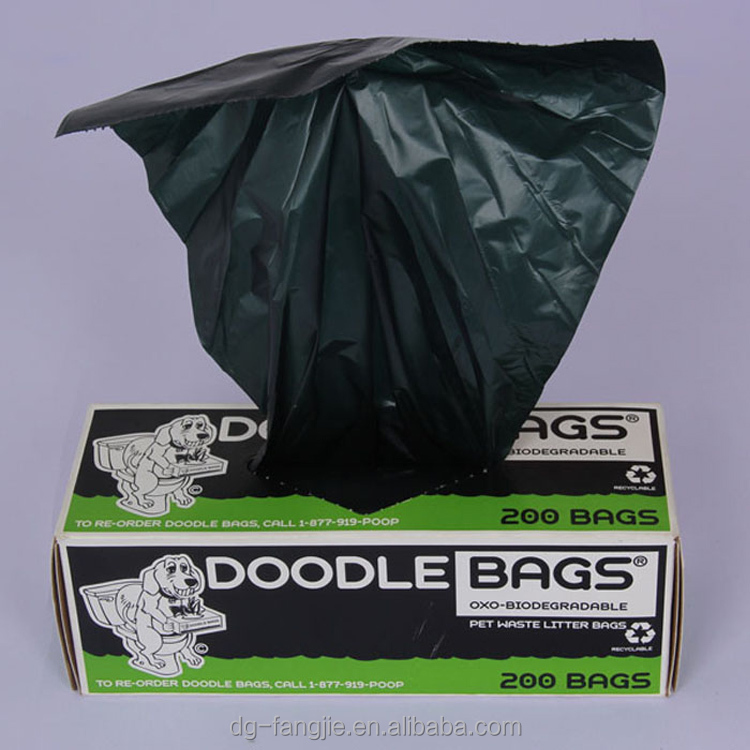 Custom Wholesale Biodegradable And Compostable Dog Poop Bag With Dispenser