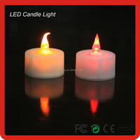 Battery LED Candle Light White Flame