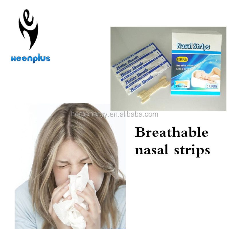 Quality 2017 CE FDA ISO approved anti snoring nasal strips better breath nasal strips