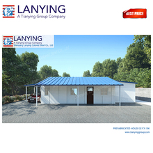 sandwich panel prefabricated houses, luxury prefab steel villa, prefabricated residential houses